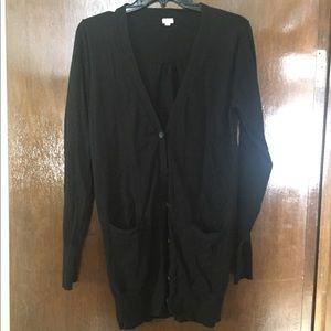 Jcrew black cardigan